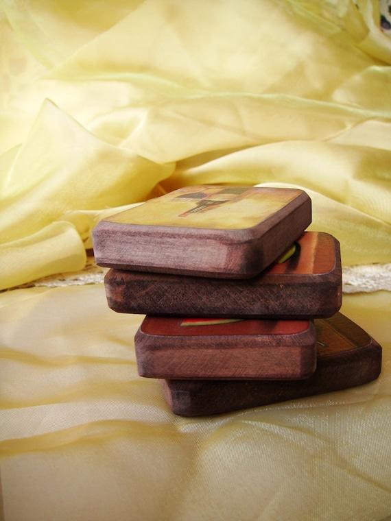 Магниты - Натюрморт - комплект из 2 - подарок для папы