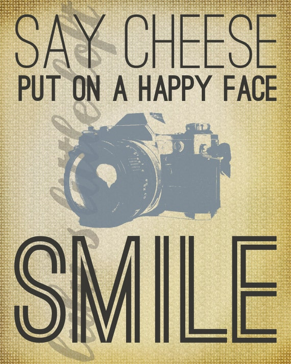 put on a happy face poster