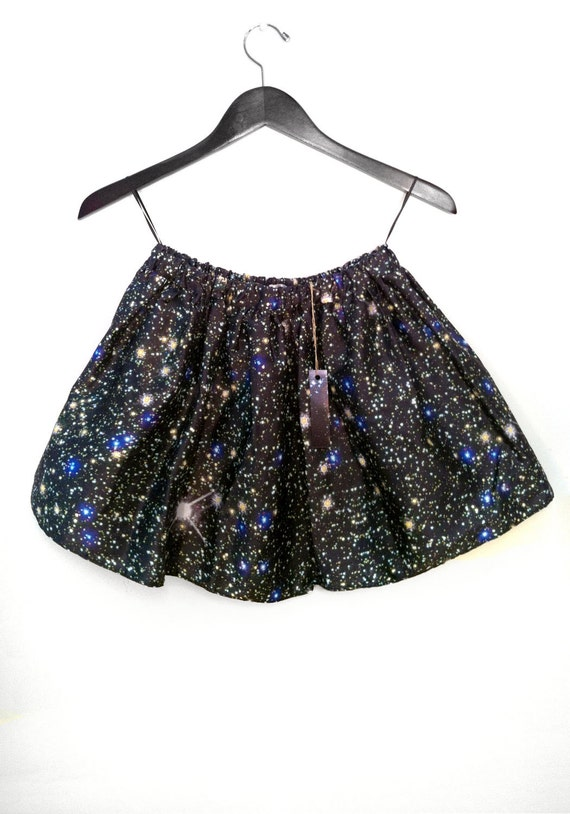 Stars Hubble Print Space Skirt