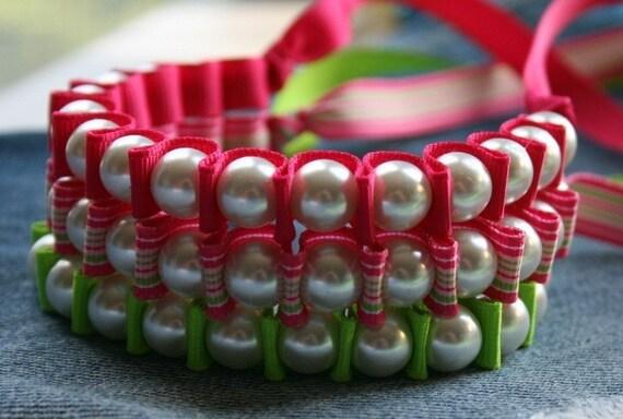NEON Ribbon Bracelets -  Sallie Ribbon Bracelet Trio