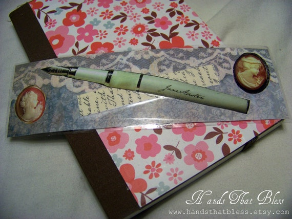 Jane Austen Inspired Bookmark