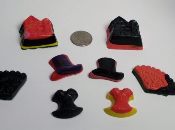 Recycled Crayons....great for Costume Parties, Bridal Showers, Valentines Get togethers  and  so much more.