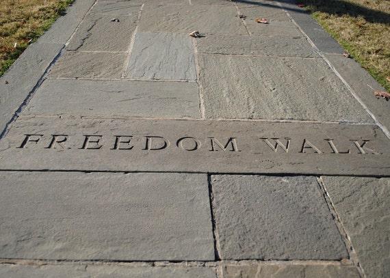 Freedom Walk, Kelly Ingram Park, civil rights, 5 X 7 fine art print