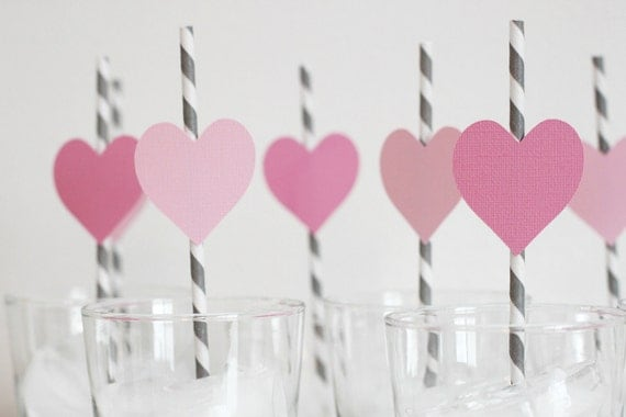 Party Favor. Party Decor. Valentine's Day. Sweetheart Party. Girls Birthday. Wedding Shower