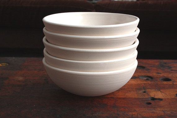 RESERVED Everything Bowl in White