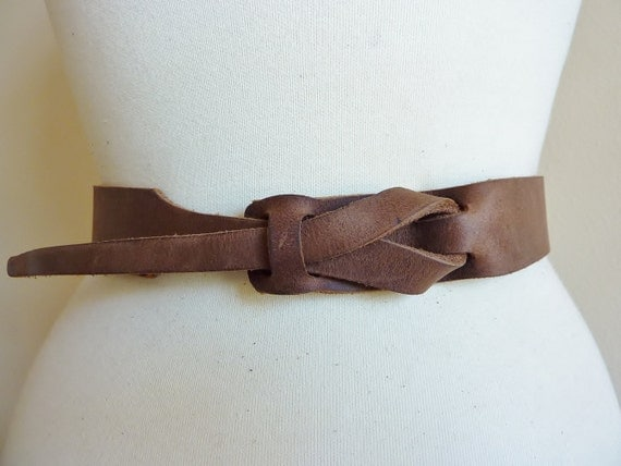 Safari Brown UNISEX Muse Belt 11/4 inch Nickel Free by MuseBelts from etsy.com