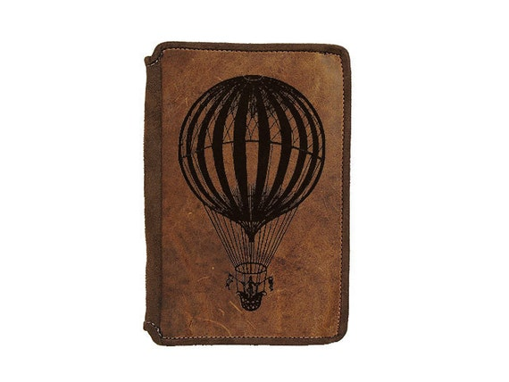 Best Kindle Fire Leather Case - Hot Air Balloon