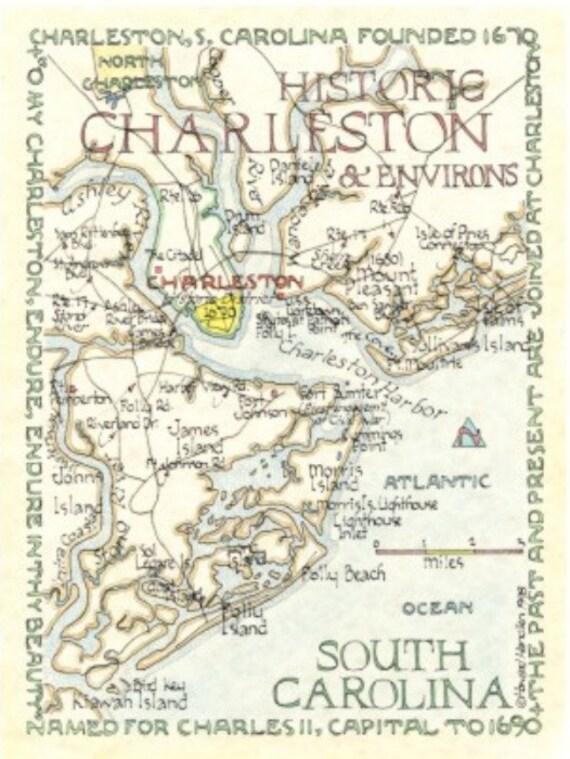 Charleston & Environs, S.C. 12x16