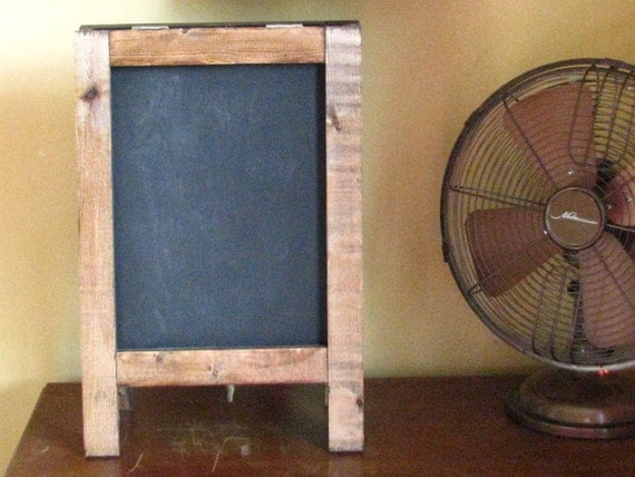 Vintage MINI Tabletop French Cafe Chalkboard, French Cafe Sign