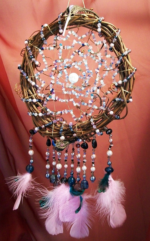 Moon Protector Dreamcatcher Devils Claw and Vine