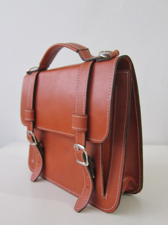 Bag number 2 leather satchel In Stock-Ready to ship
