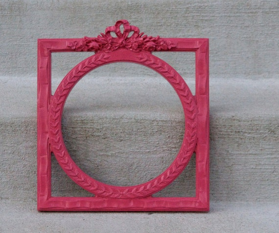 Hot Pink Picture Frame - So Girly & Fabulous