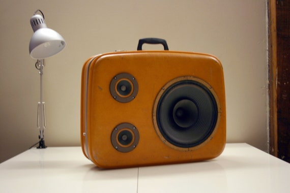 Orange Voyage  - JukeCase - Portable Custom Hi-Fi