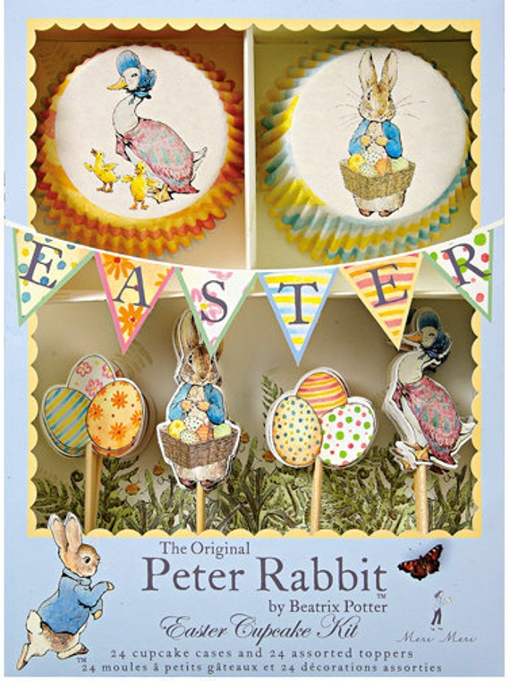 Peter Rabbit Easter Cupcake Kit