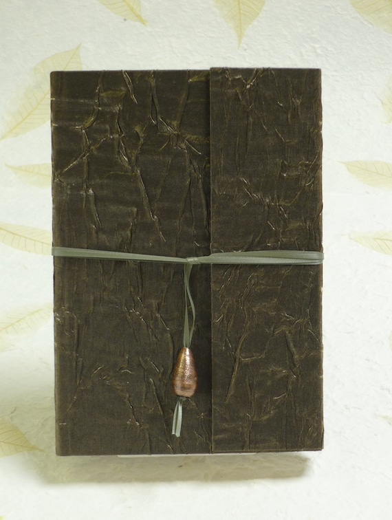 Crushed Fabric covered Journal