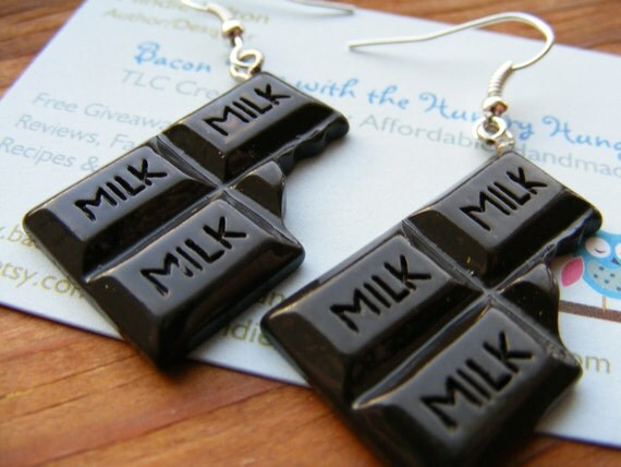 Earrings Chocolate Bliss