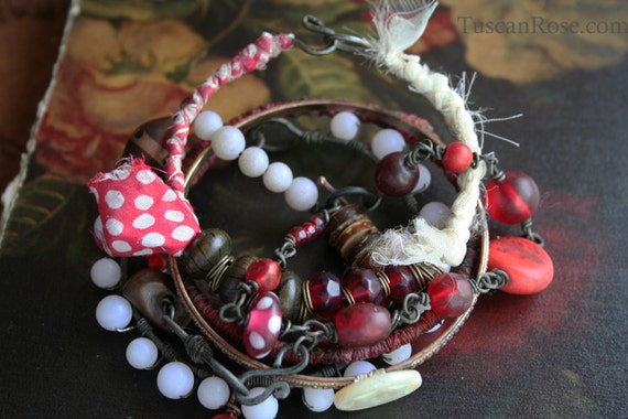 Lolita - Bangle Bracelet Stack - urban mermaid jewelry