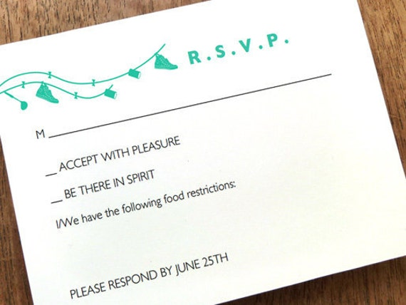 Printable Wedding Response Card Beetle