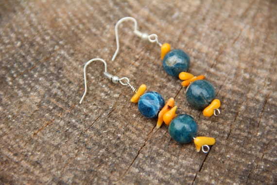 Gorgeous Apatite Earrings