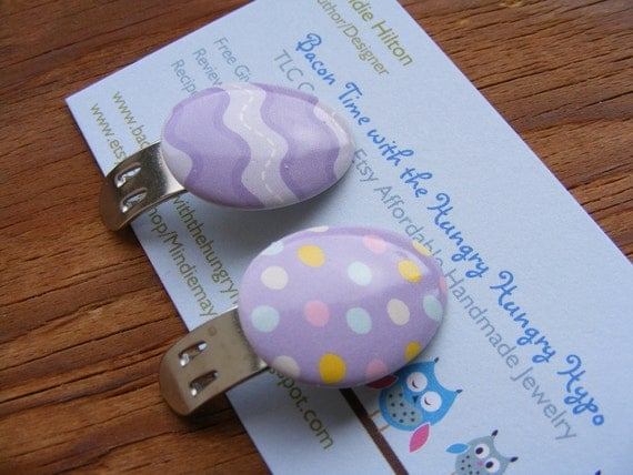 Shoe Clips Easter Eggs (your choice of colors)