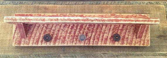 Granero rústico estante de madera