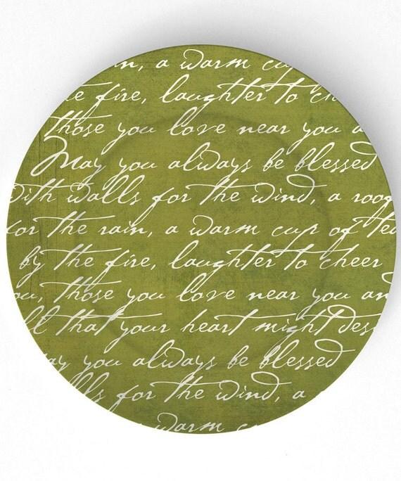Tudo o que seu coração poderia desejar - Placa de melamina de 10 polegadas