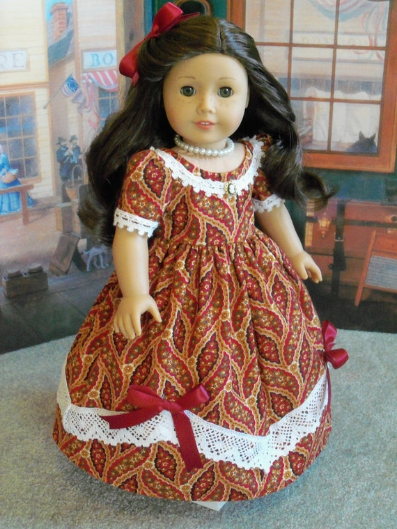 Cecile, Marie Grace  A Day on the Town Dress / Clothes for American Girl Dolls