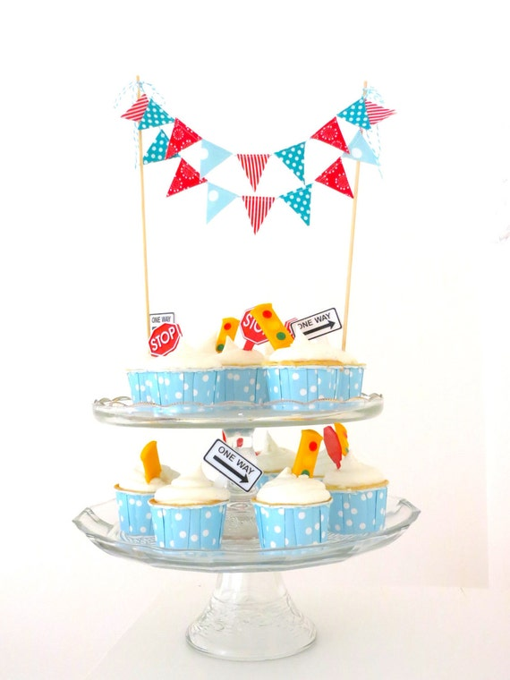 "Cake Bunting- ""Birthday Parade"""
