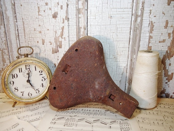 Old Rusty Bicycle Seat