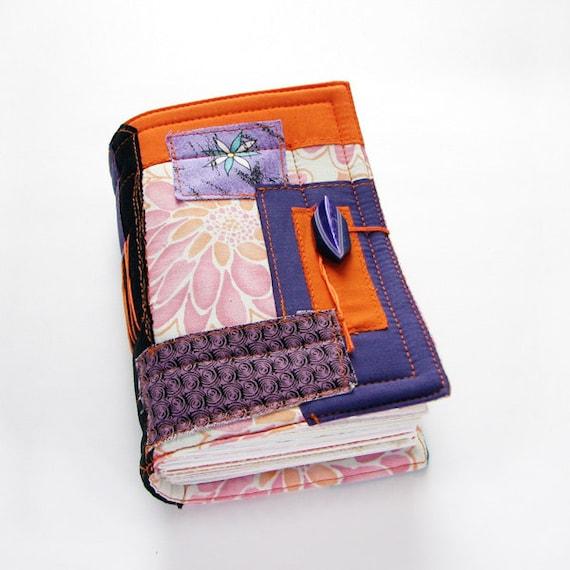crazy patchwork journal