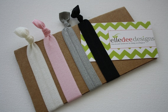 Elastic Hair Tie... Hair Knoties Glamor Pack