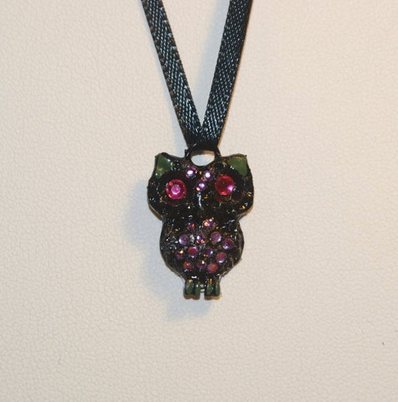 Pretty Little Liars (Mini) Inspired Owl Necklace