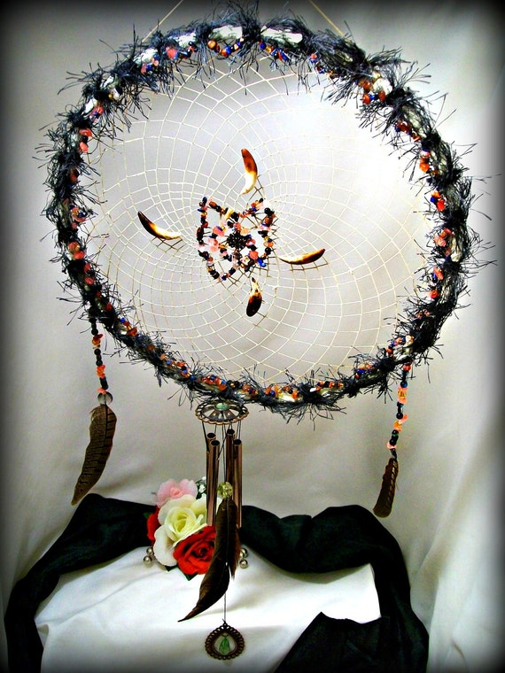 Circle of Life Glow in the Dark Dreamcatcher Window Chime