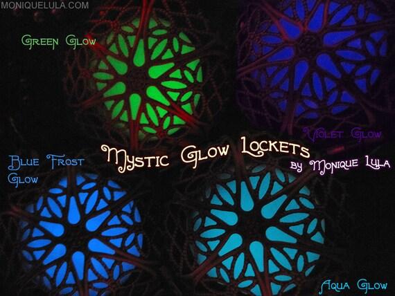 silver glow locket