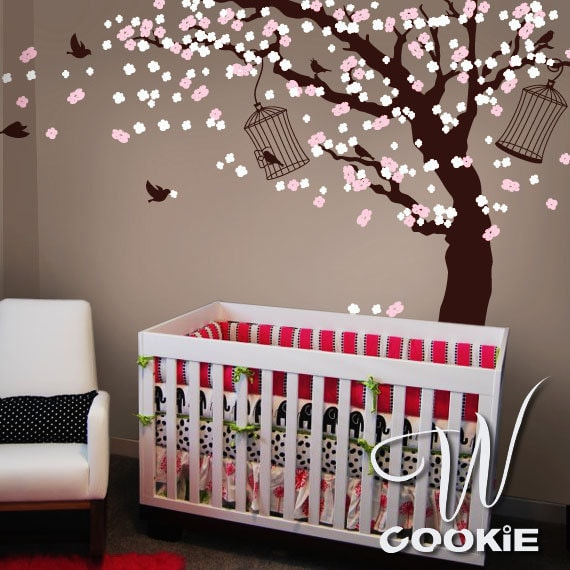 Cherry Blossom Tree  - Nursery Wall Decal