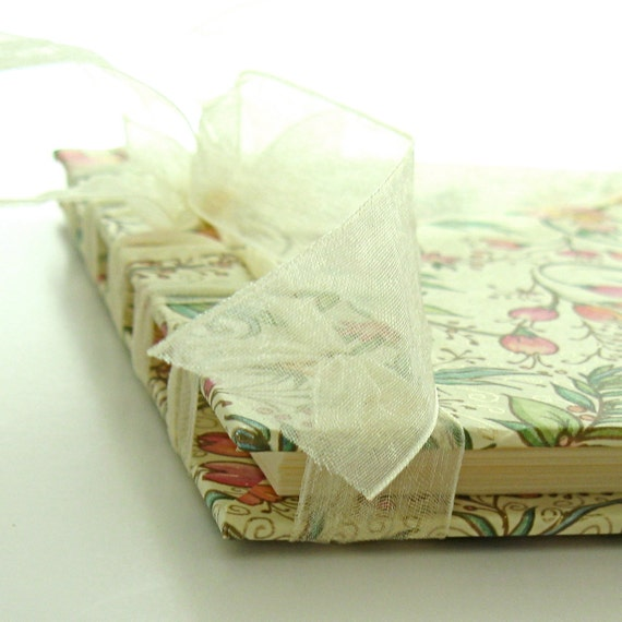 Wedding Guest Book An Italian Wedding Party in Cream Pink and Sage