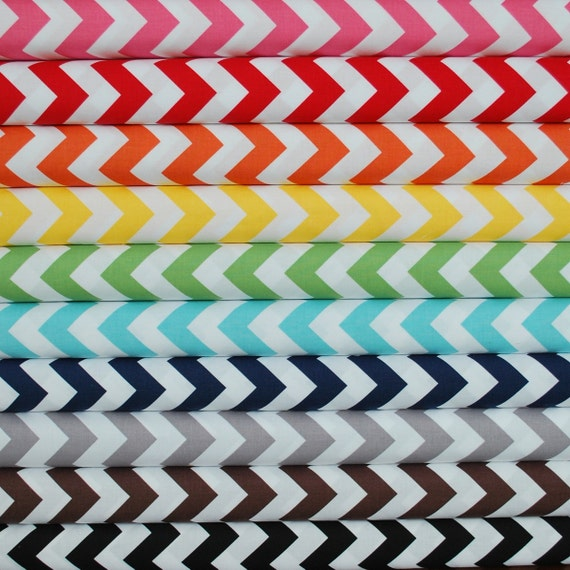 CRIB SHEET in Chevron Zig Zag Print (CUSTOM: choose your fabric)