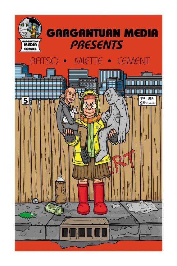 Schmitt Gargantuan Puppets Roaches Comic