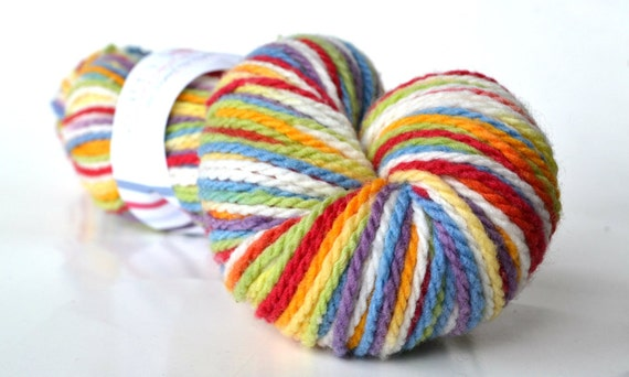 -Vanilla Rainbow- on Mountain Meadow <br> Dyed by Elysia