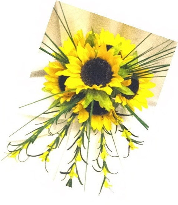 Sweet Sunflower Bridal Bouquet