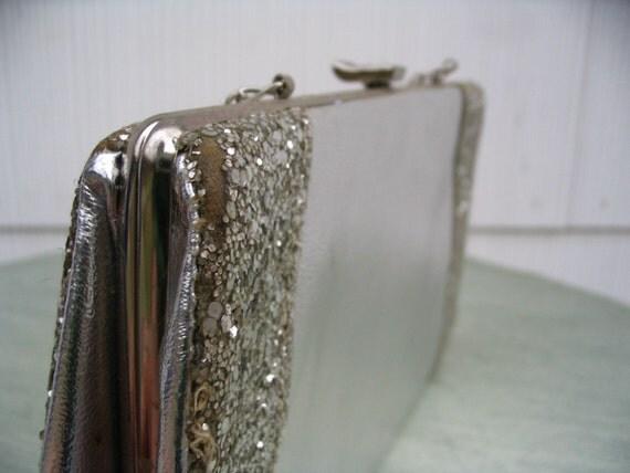 Tarnished - vintage silver purse