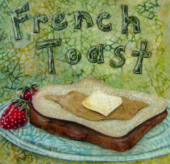 French Toast - 8.5  x 11 archival print