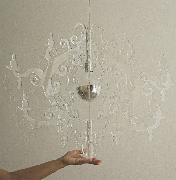 Claire de Lune Chandelier BIG