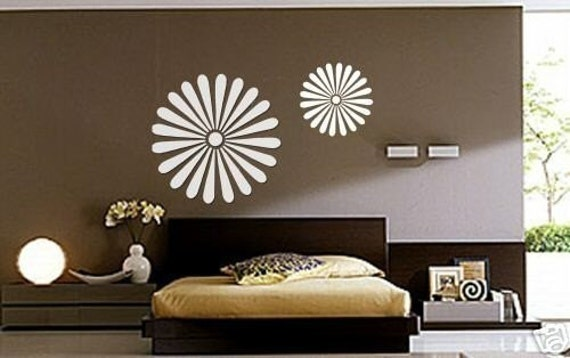 ShaNickers Wall Decal, DAISIES, Free Shipping