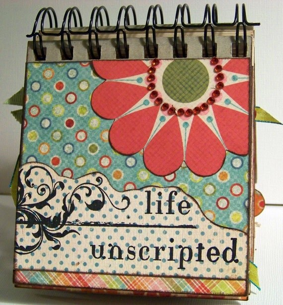 LIFE UNSCRIPTED Chunky Display Mini Album - PROJECT KIT