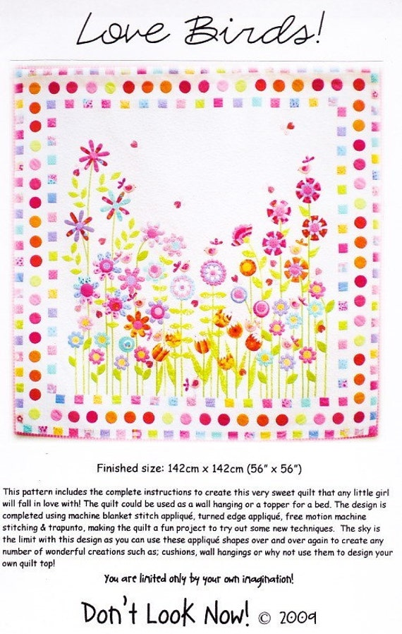 """Humble Bee applique and pieced quilt patterns"""