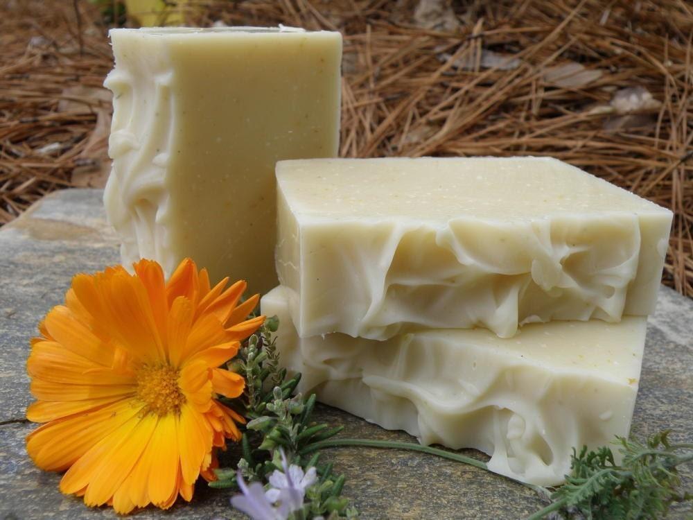 Organic Herb Garden Soap
