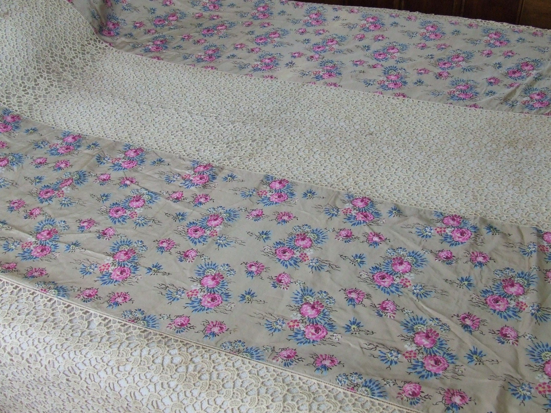 Crochet Patterns Queen Size Bed : Bed Crocheted Spread Crochet Guild