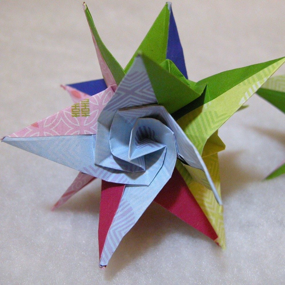 Picture Of Diy Origami Ornaments: ORIGAMI ORNAMENTS « EMBROIDERY & ORIGAMI
