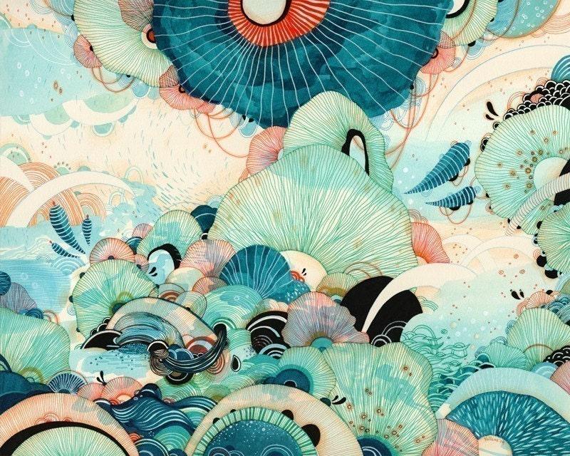 Indie Art Print Finds